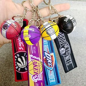 Basketball Sport NBA Team Keychain Basketball Souvenir Pendant Wholesale
