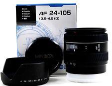 Minolta Af Zoom 24-105mm 1:3 .5-4.5 D