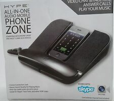 Hype HY582BK All-In-One Mobile Phone Zone Dock with Speaker Black New