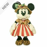 2020 DISNEY STORE Minnie Mouse the Main Attraction Soft Toy JUNGLE CRUISE RIDE