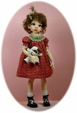 "Dress pattern for BJD MSD dolls; Kaye Wiggs', Little Darling, 14"" Kish"