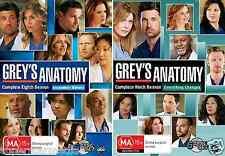 Grey's Anatomy Season 8 & 9 - NEW DVD