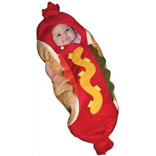 Baby Hot Dog Costume Halloween Fancy Dress