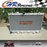 3Row FOR Subaru Impreza WRX STI GG GD 1.6L/2.0L/2.5L 2002-2007 Aluminum Radiator