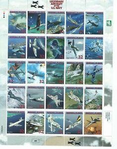 Marshall Islands Sc 666a-y Legendary Aircraft of the U.S. Navy  NC-4; PBY-5 etc