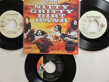 4 ' NITTY GRITTY DIRT BAND ' HIT 45's+1P(Copy)[Modern Day Romance] 70's&80's!