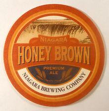 Niagara Brewing Company Honey Brown Premium Ale Vintage Beer Coaster