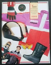 1991 Yamaha Snowmobiles Accessories and Apparel Dealers Sales Brochure Catalog