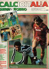 GUERIN SPORTIVO=CALCIOITALIA 1982-1983=completo di poster uomini gol e adesivo=