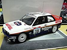 Bmw m3 e30 talla a Rally Tour de Corse winner Beguin 1987 Otto Model rar 1:18