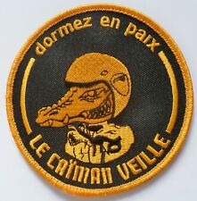 Insigne Patch AERONAVALE FLOTTILLE 33 F CAIMAN VEILLE ORIGINAL MARINE FRANCE