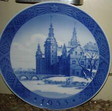 "Royal Copenhagen 1953 Plate - 7 1/4"""