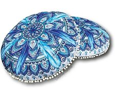Outdoor Mandala Round Cushion Pillow 73cm RELAX Bed Lounge Sofa Lisa Pollock