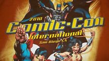 San Diego California COMIC CON International T-Shirt XL comics Toy DC MARVEL