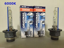 2PCS NEW OSRAM XENARC D2S 66240 66040 6000K OEM HID XENON LIGHT BULBS SET