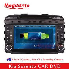 "8"" Car DVD GPS Navigation Touch Screen Stereo Radio For Kia Sorento 2015-2016"