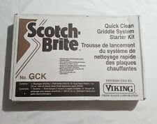 3M Scotch Brite Quick Clean Griddle System Starter Kit - New Sealed Dead Stock