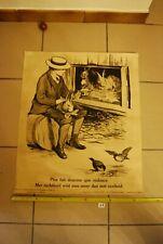 AF1 Ancienne affiche - Protection des animaux - Plus fait douceur que violence