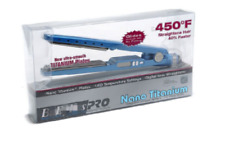 "Babyliss Pro Nano titanium flat iron new in original box 1 1/4"" plates 450F"