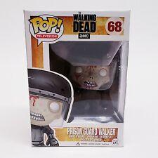 New Funko Pop! The Walking Dead Prison Guard Walker #68 Vaulted / Retired Bloody