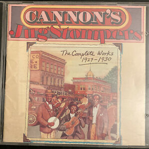 Gus Cannon - Cannons Jug Stompers The Complete Works 1927 - 1930 Cd Blues Jazz