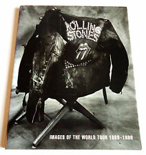 THE ROLLING STONES Images Of The World Tour 1989-1990 JAPAN PHOTO BOOK 1991