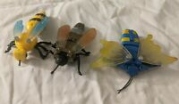 Vintage Insecto-Bots Action Figure Transformer Go-Bot KO Bootlegs Lot
