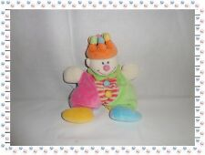 M - Doudou Personnage Clown Joker  Multicolore Couronne Jollybaby