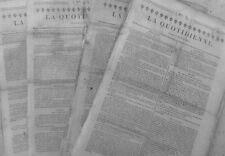 1820 -75 TALLEYRAND  & ROI PROMENADE DUC HAVRE DUC DE LA CHATRE