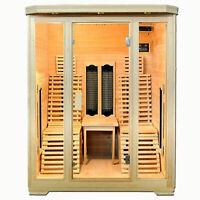 XXL Luxus LED Infrarotsauna.Infrarotkabine W/ärmekabine Sauna Outdoor USB MP3.