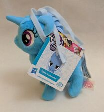 "My Little Pony Trixie Lulamoon Blue Unicorn Hasbro Plush Small 6"" NWT"