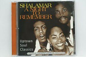 Shalamar - A Night To Remember (Best Of) CD Album - Uptown Soul Classics - HTF