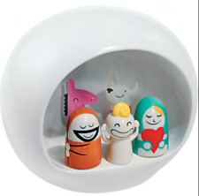 ALESSI Christmas Nativity Figurine Group AMGI10 FREE DELIVERY