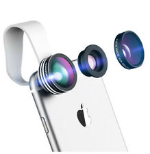Mpow 3 in 1 Clip-On Fish Eye/ Macro/ Wide Angle Lens IPhone5/5s/6/6s/7/8/X