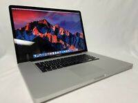 "GRADE A Apple MacBook Pro 17"" Core i5 8GB 1TB SSD NVIDIA GeForce DG DVDRW Sierra"