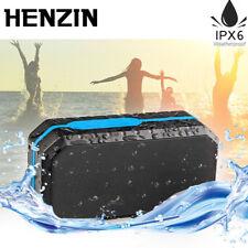 HENZIN Waterproof Portable Wireless Bluetooth Speaker Mini Stereo Loudspeaker FM