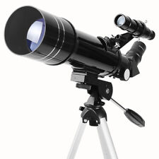 40070 Outdoor Refractor Astronomical Telescope Optical Lens W/ Tripod For Kids