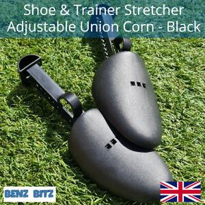 2X Sneaker Shoe Stretcher Shoe Tree Trainer Shaper Union Corn Plastic UK Seller