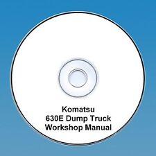Komatsu 630E Dump Truck Workshop Manual