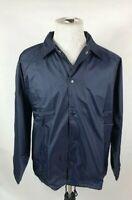 Augusta Sportswear Adult Navy Blue Large Nylon Coach's Jacket Lined   3100