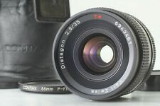 [MINT in CASE] Contax Carl Zeiss Distagon T* 35mm F2.8 MMJ Lens from JAPAN #2055