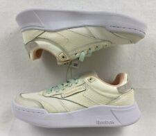 Women's Reebok Club C Legacy Tennis H68006 Shoes Sz 5.5 US White/Sand/Chalk NWOB