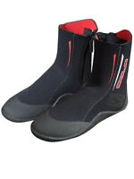 SOLA ALL PURPOSE 5mm ZIPPED WETSUIT BOOTS kayak dinghy jetski sailing 4-12 SIZE