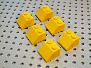 Lego Brick Slope 45 deg 2x2 (pack of 6) Part 3039 choose colour & amount