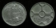 Netherlands - 1 Cent 1944 zink