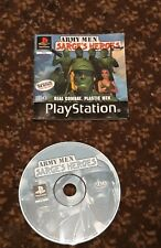 ARMY MEN SARGE'S HEROES PS1 DISC AND BOOKLET ONLY