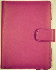 AMAZON KINDLE 4/5 LEATHER COVER ETUI MAGENTA