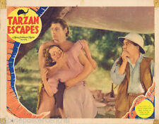 TARZAN ESCAPES 1936 Johnny Weissmuller RARE VINTAGE Lobby Card 4