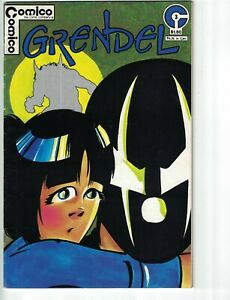 Grendel (1st Series) #3 FN; COMICO   save on shipping - details inside