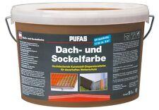 (6,50€/L) Pufas Dachfarbe und Sockelfarbe sandstein    5L